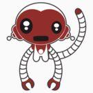 Robot Monkey by psygon