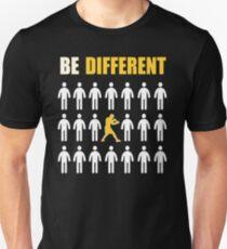 Boxing T shirt - Be Different - Motivational T shirt  Unisex T-Shirt