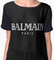 Balmain Paris By Lukman Chiffon Top