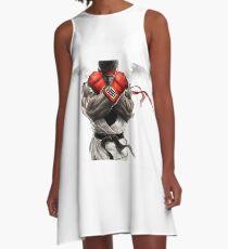 street fighter ryuk A-Line Dress