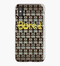 Sherlock BORED iPhone Case