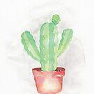 Blue Myrtle Cactus  by dreampigment