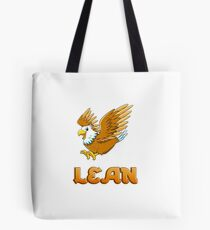 Bolsa de tela Lean Eagle Sticker
