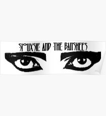 Siouxsie and the Banshees - Eyes of Siouxsie Sioux 3 Poster