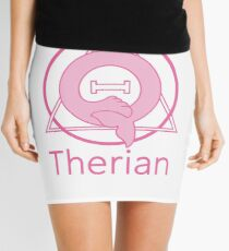 "PD (ytb) Theta-Delta Therian Symbol ""THERIAN"" Mini Skirt"