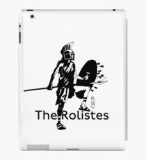 The Rolistes Podcast - Trojan (Mono) iPad Case/Skin