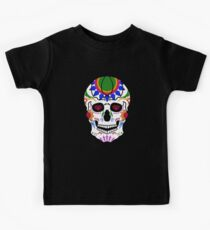 Mexican Sugar Skull Kids Tee
