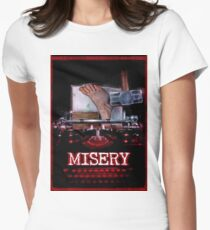 MISERY Women's Fitted T-Shirt