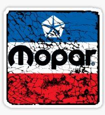 Mopar  old cracked, but so great Sticker