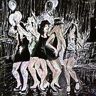 Dancing Girls by Sandra Gray