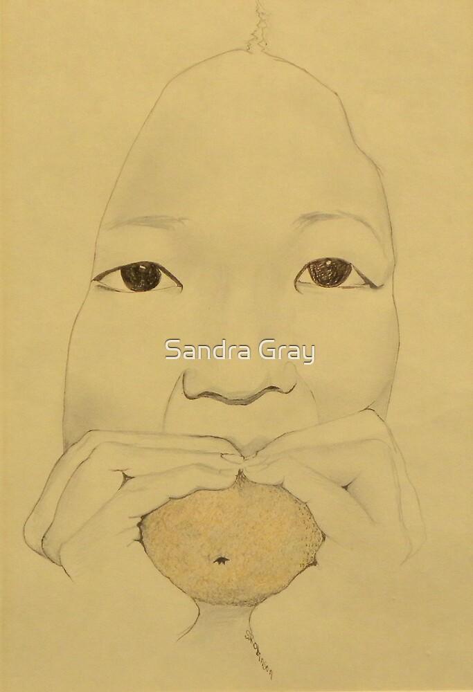Asian Orange by Sandra Gray