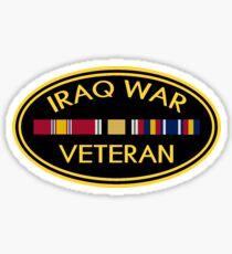 Iraq Veteran Sticker