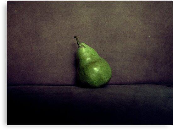 A Single Pear by Kitsmumma