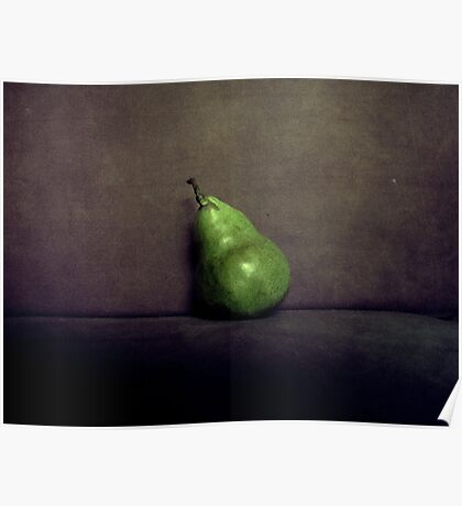 A Single Pear Poster