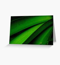 Greener than Green Greeting Card
