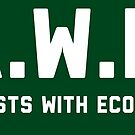 Artists With Ecology- A.W.E. by Christopher Gerber