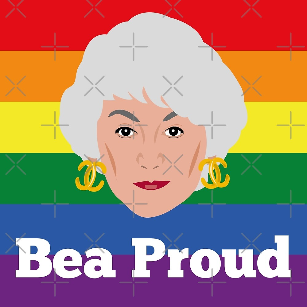 Bea Arthur Pride Proud by gregs-celeb-art