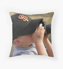 Future RedBubbler ~ Throw Pillow