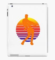Orange Gerechtigkeit Tanz retro iPad-Hülle & Klebefolie