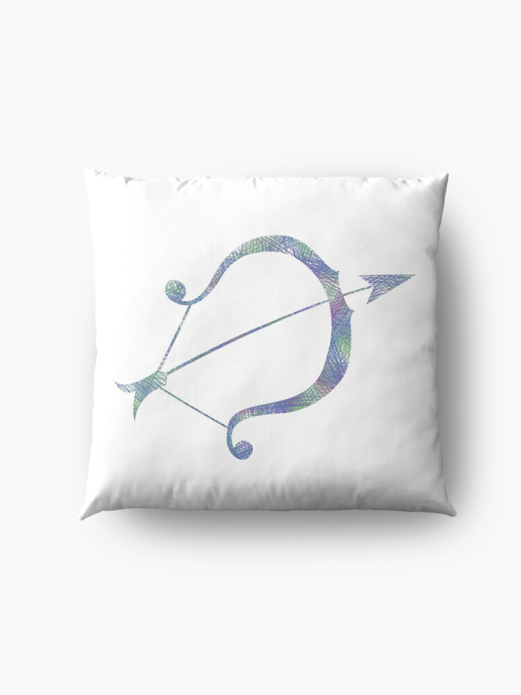 Alternate view of Sagittarius Floor Pillow
