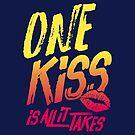 One Kiss Lyrics by aartmoore