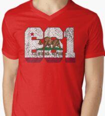 ALWAYS REPPIN' THE 661 Men's V-Neck T-Shirt