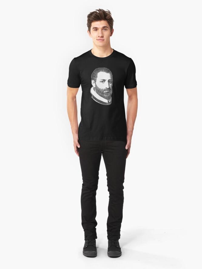 Alternate view of Tomas Luis de Victoria Slim Fit T-Shirt