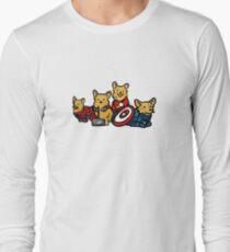 Camiseta de manga larga Corgs Assemble