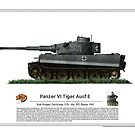 Tiger I Ausf E - Tank Ace Kurt Knispel (Spz.Abt 503 Russia, 1943) by TheCollectioner