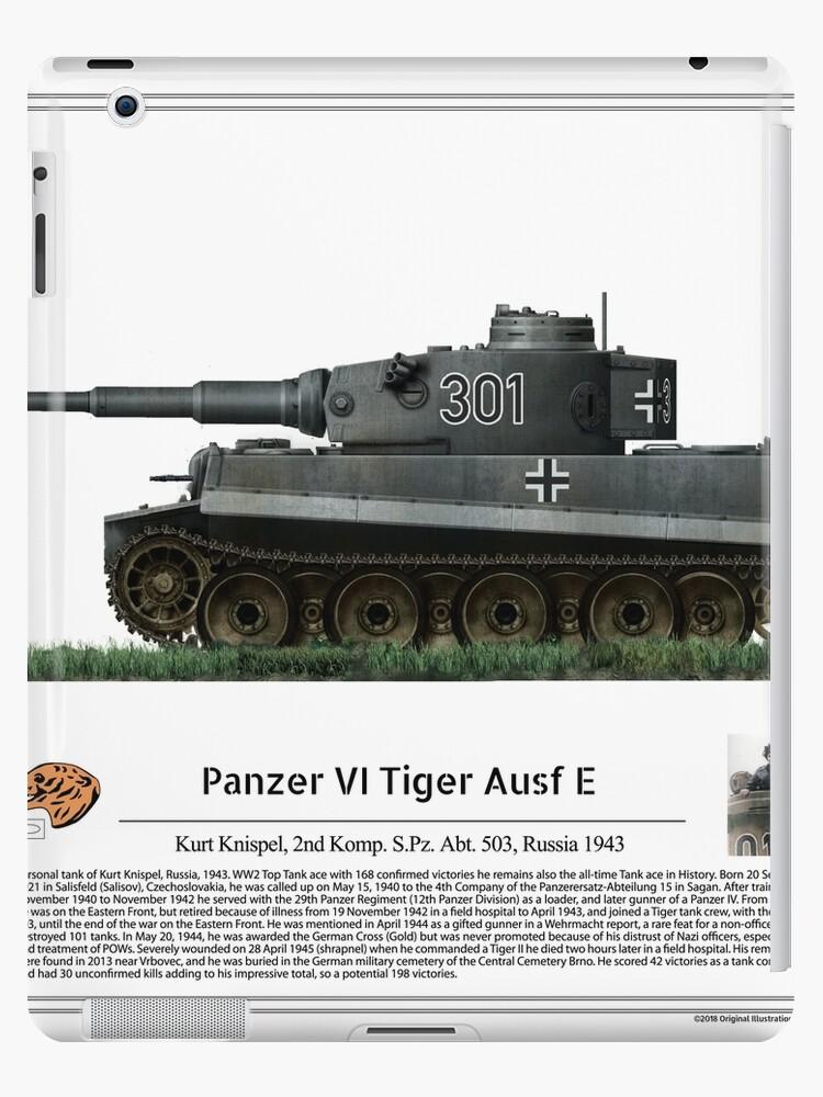 Tiger I Ausf E Tank Ace Kurt Knispel SpzAbt Russia - Abt ipad