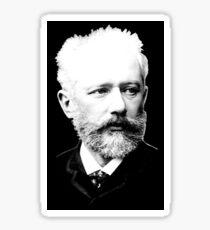 Pyotr Ilyich Tchaikovsky - Great Russian Composer Sticker