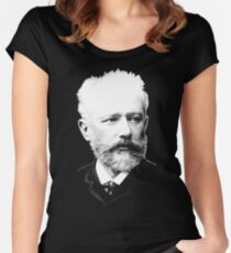 Pyotr Ilyich Tchaikovsky - Great Russian Composer Women's Fitted Scoop T-Shirt