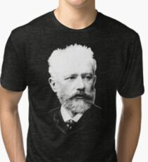 Pyotr Ilyich Tchaikovsky - Great Russian Composer Tri-blend T-Shirt