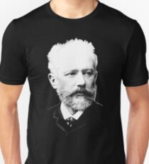 Pyotr Ilyich Tchaikovsky - Great Russian Composer Unisex T-Shirt