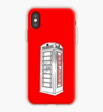 British Public Telephone Box iPhone Case