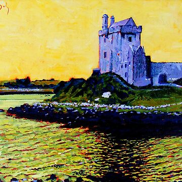 Dunguaire Castle, Galway, Ireland by eolai
