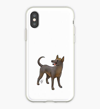 Xoloitzcouintli iPhone Case