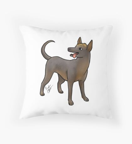 Xoloitzcouintli Throw Pillow