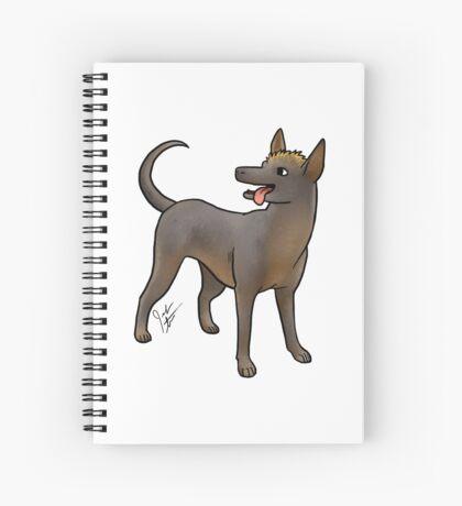 Xoloitzcouintli Spiral Notebook