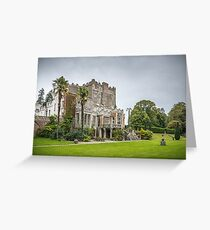 Huntington Castle and Gardens - Clonegall County Ireland Greeting Card