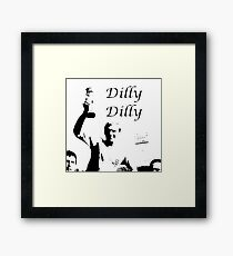 english summer dilly dilly  Framed Print