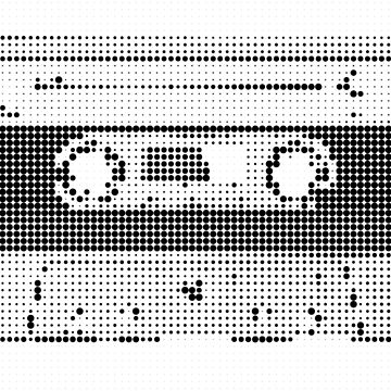 Audio tape [b&w spots edition] by Escarpatte