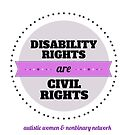 Disability Rights by ShopAWN