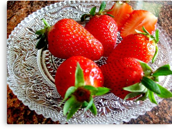 Red and sweet strawberries by Ana Belaj