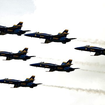 Blue Angels in the Sky by SaraWood0913