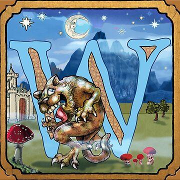 W is for Werecat. by johngieg