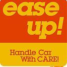 CSX 'Ease Up!' Freight Car Sticker by CultofAmericana