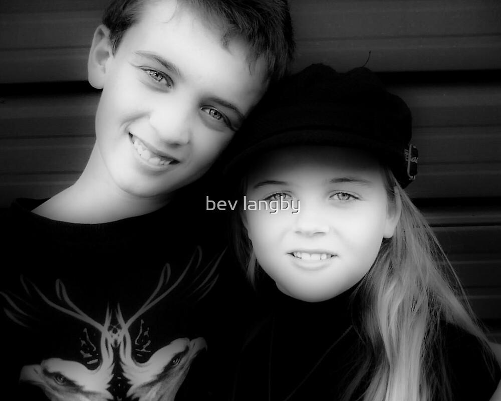 Jay and Kaylee  by bev langby