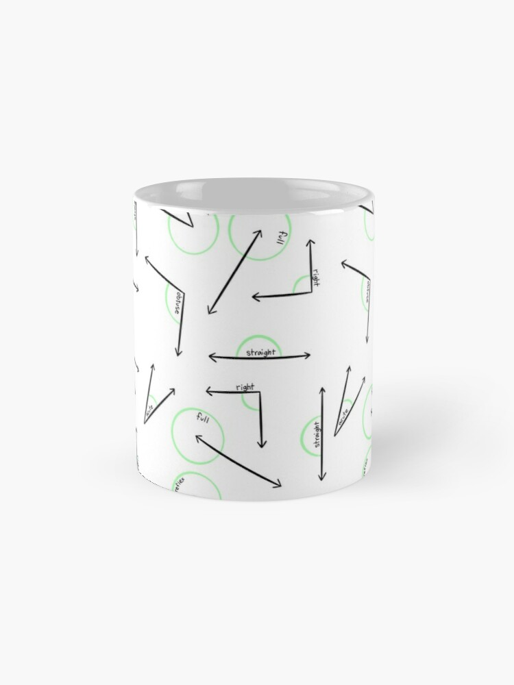 Alternate view of Learn Your Angles Mug