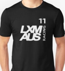 LXM Australia Racing #11 - White T-Shirt